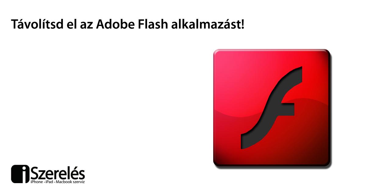 Adobe Flash eltávolítás