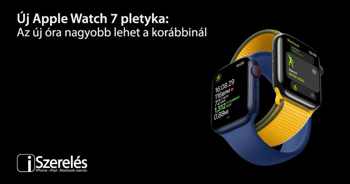 Apple Watch 7 pletyka