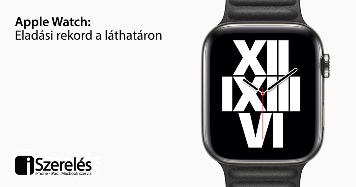 Apple Watch rekord