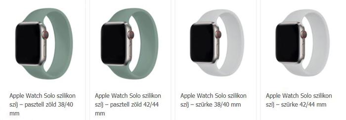 Apple Watch szíjak