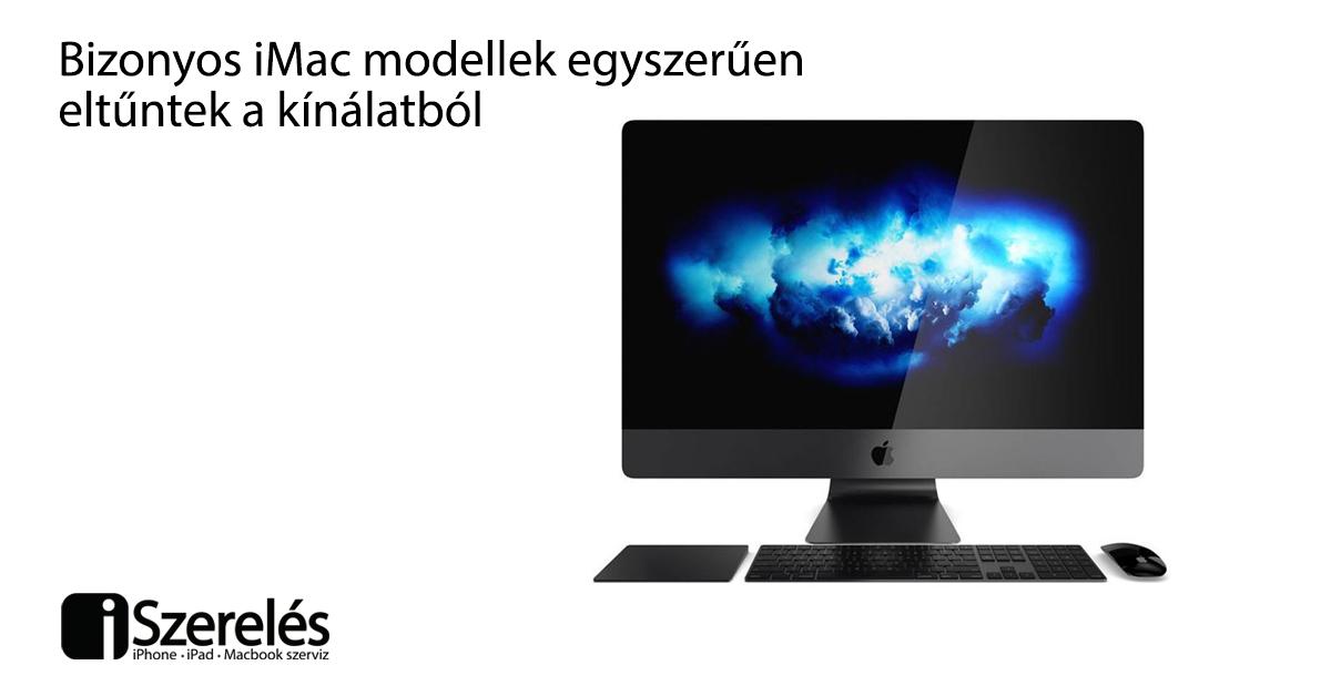 iMac modellek