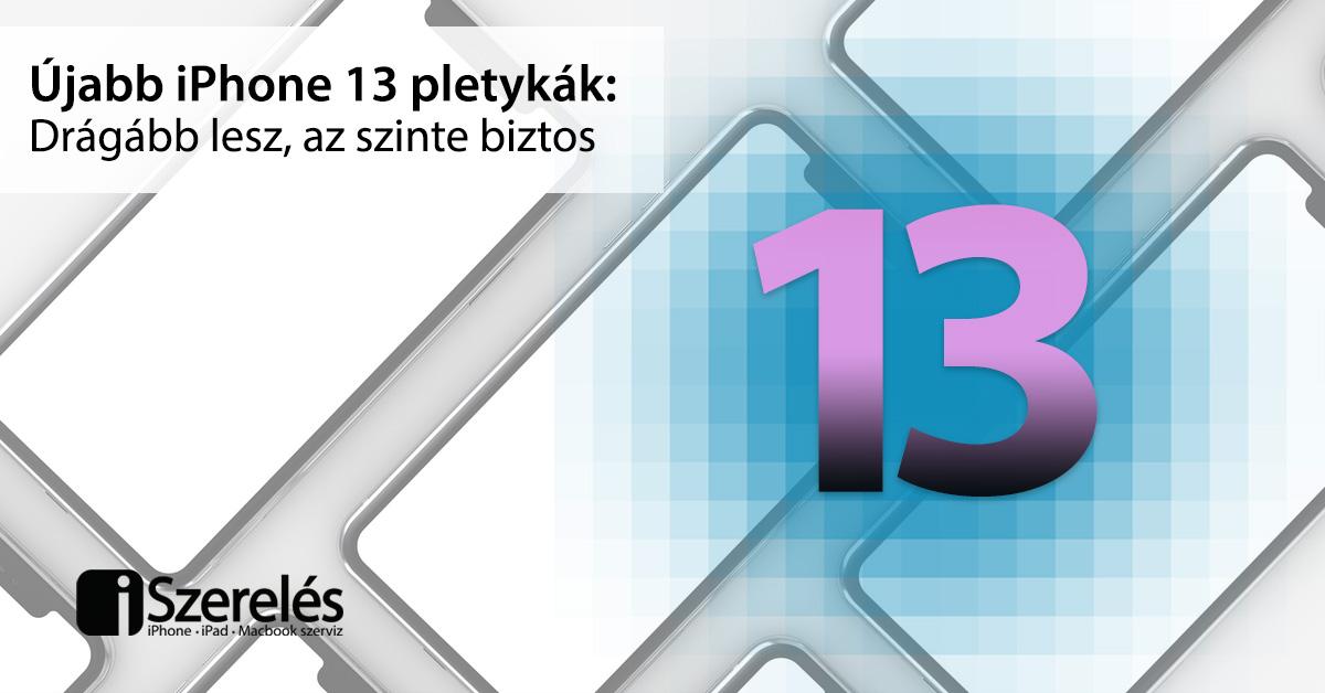 iPhone 13 pletykák