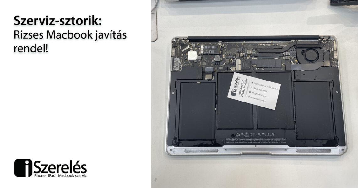 MacBook javítás