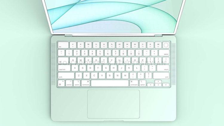 színes MacBook