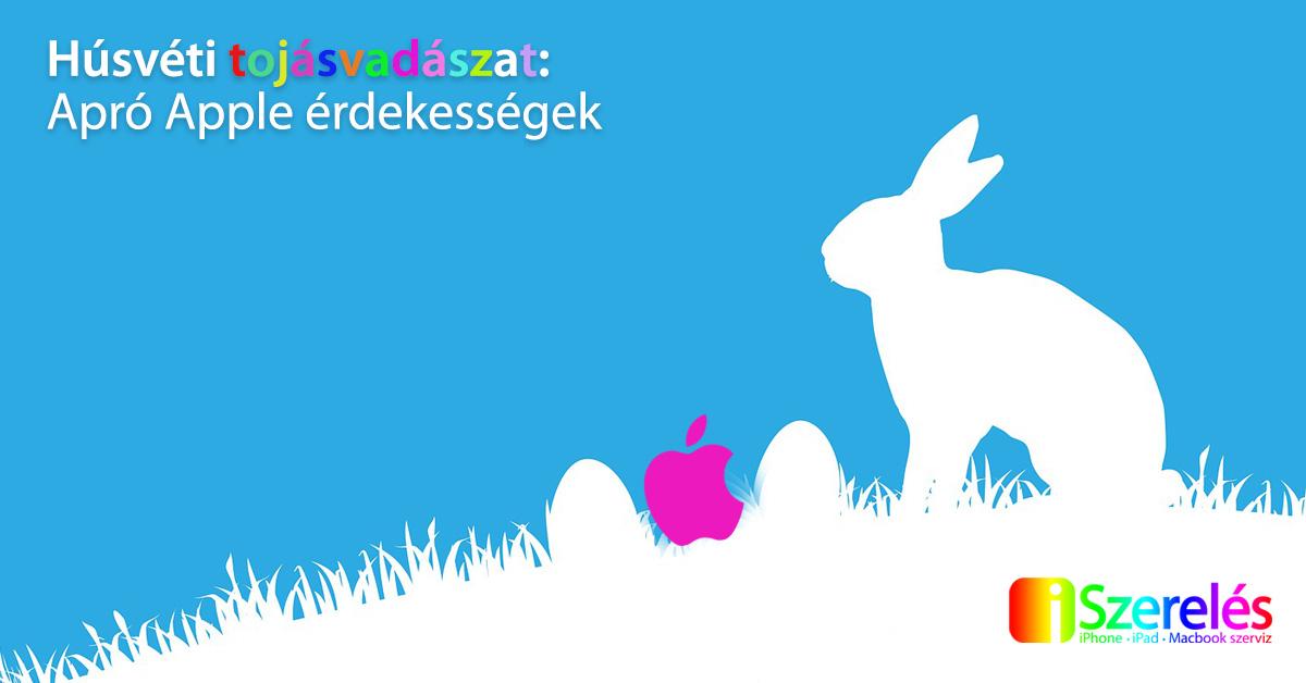 Apple húsvéti tojásvadászat