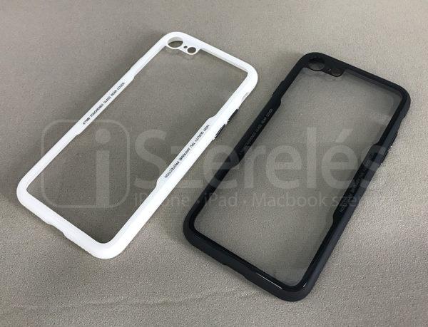 iphone 8 tok, iphone 7 tok, bumper, átlátszó iphone tok, átlátszó telefontok