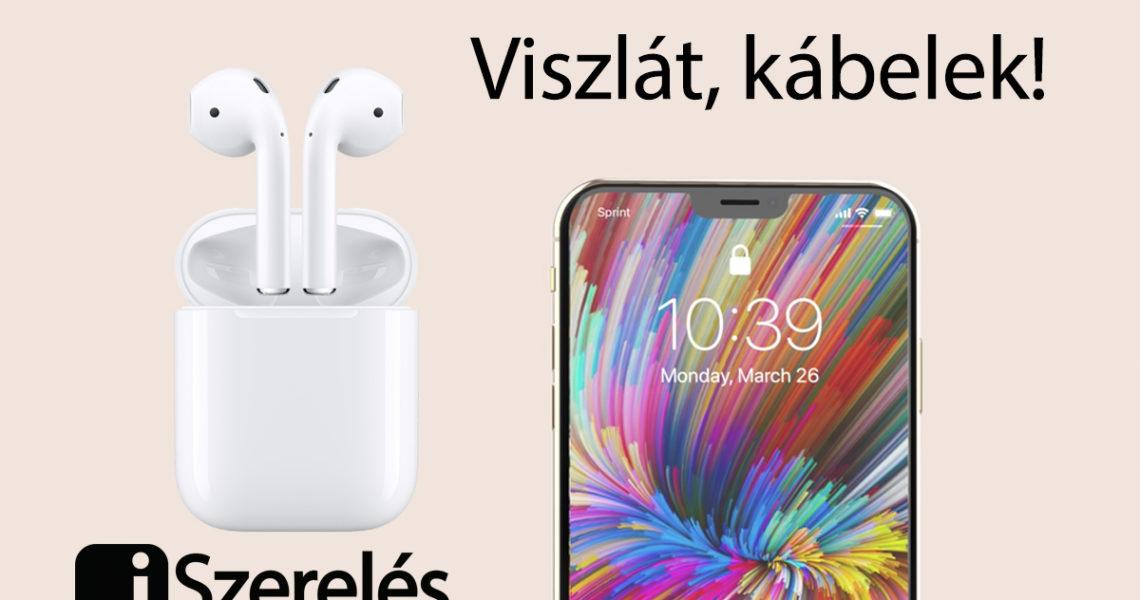 iphone és új airpods