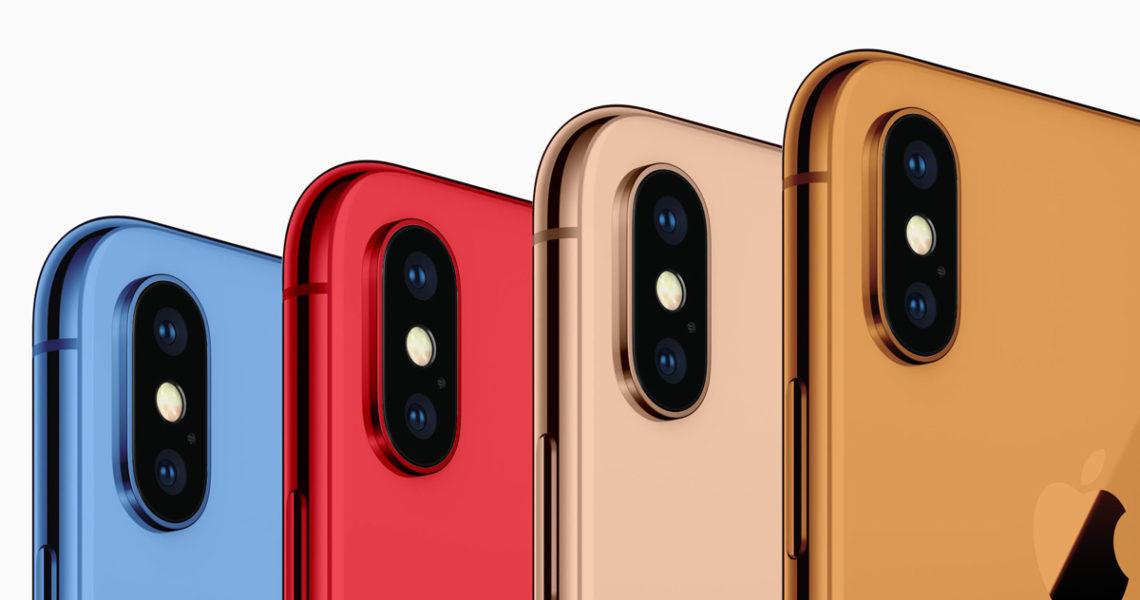 színes iPhone-ok