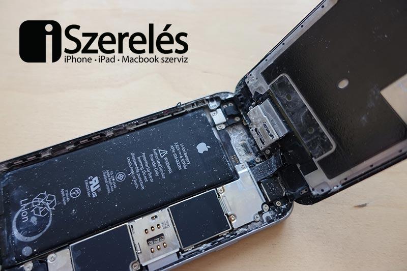 beázott iPhone-ról