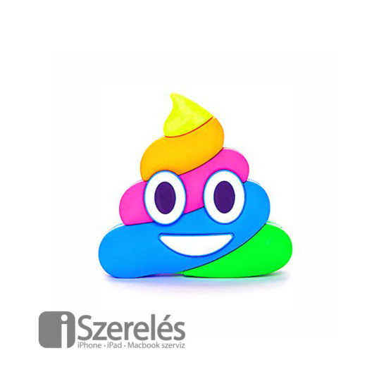 Rainbow Poop Emoji Powerbank