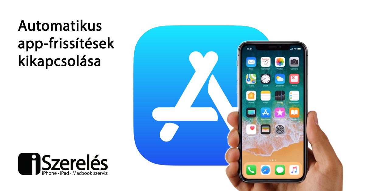 app-frissítések