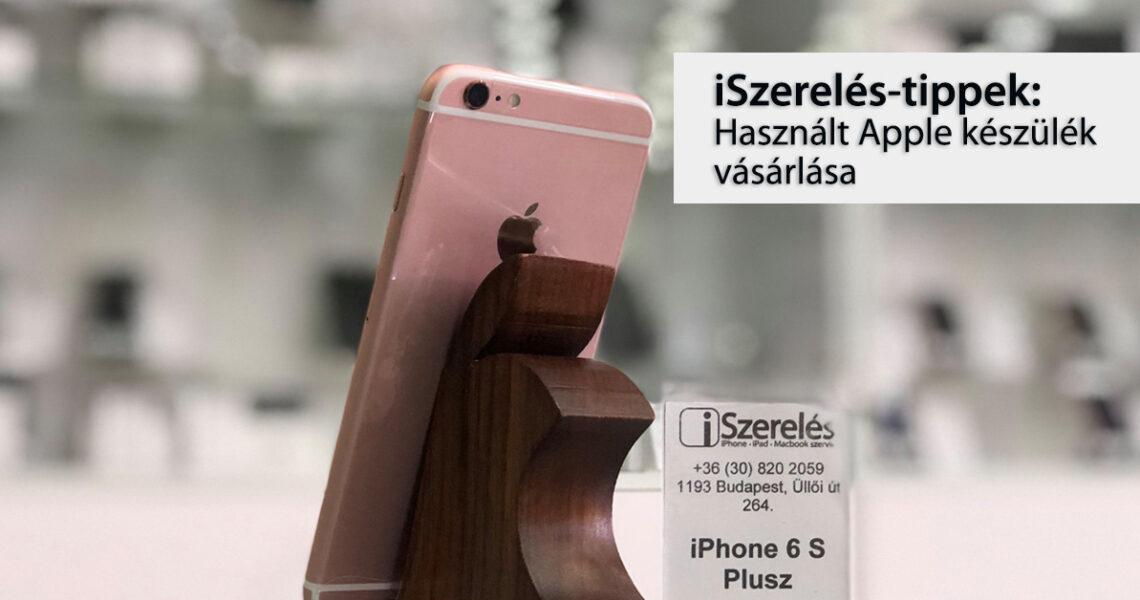 használt Apple készülék