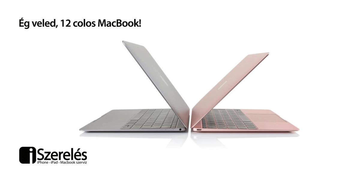 12 colos MacBook