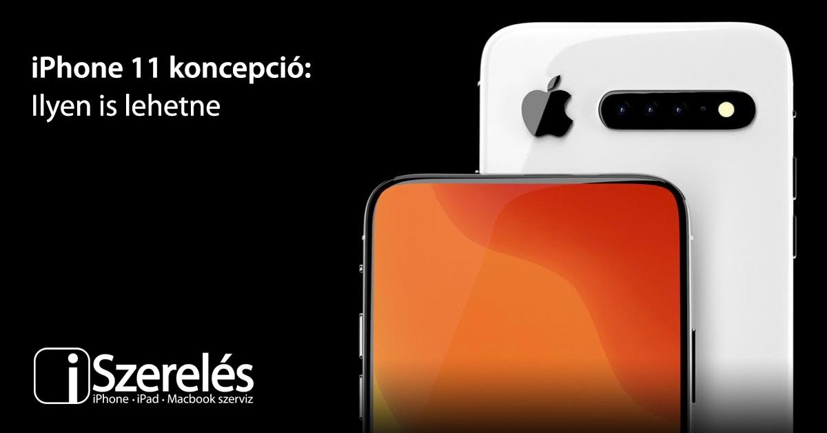 iPhone 11 koncepció