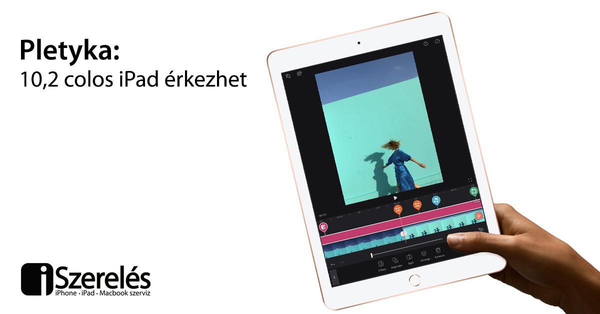 10,2 colos iPad