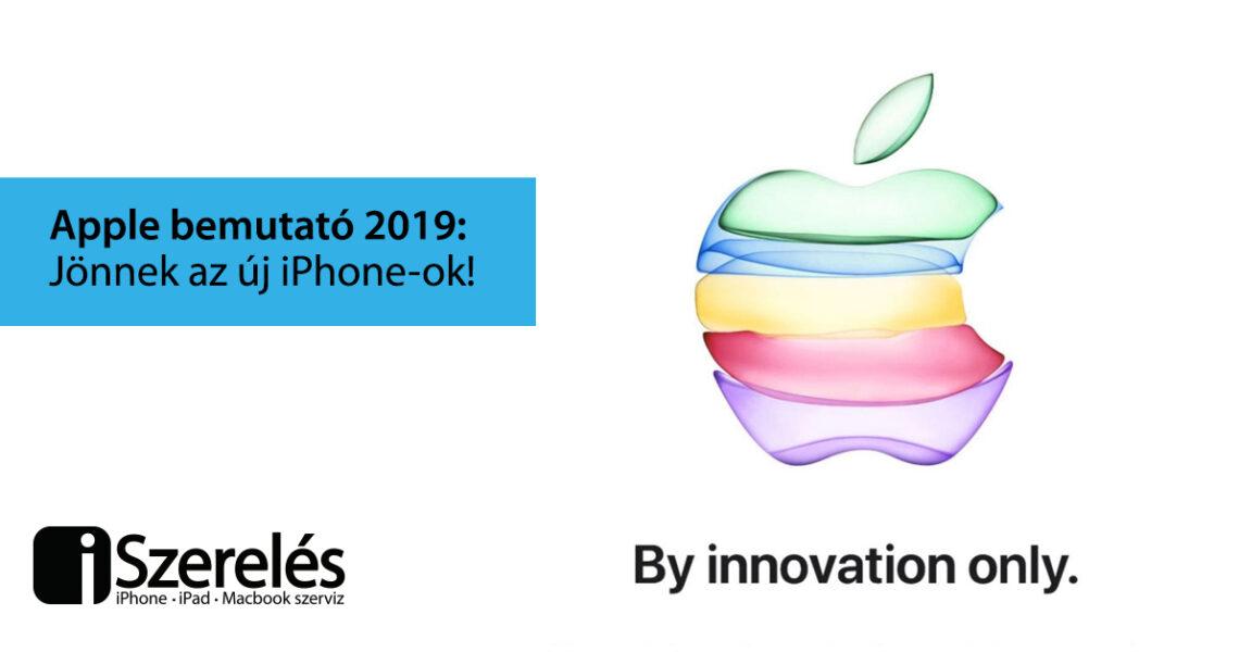 Apple bemutató 2019