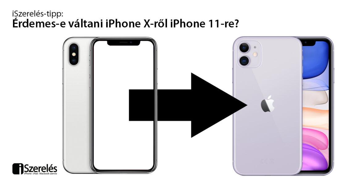 érdemes-e váltani iPhone X-ről