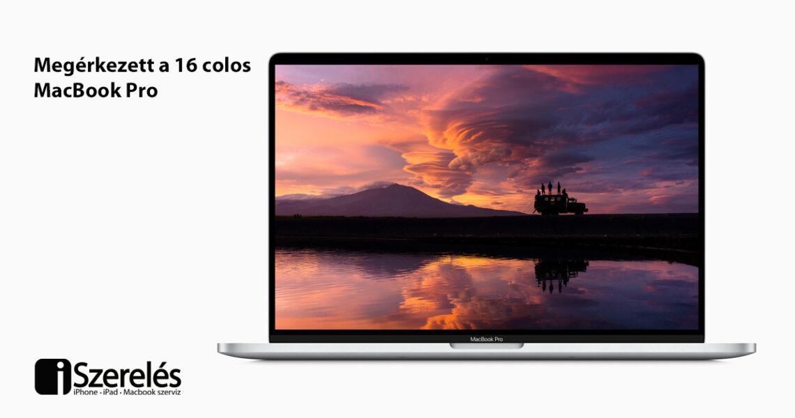 16 colos MacBook Pro