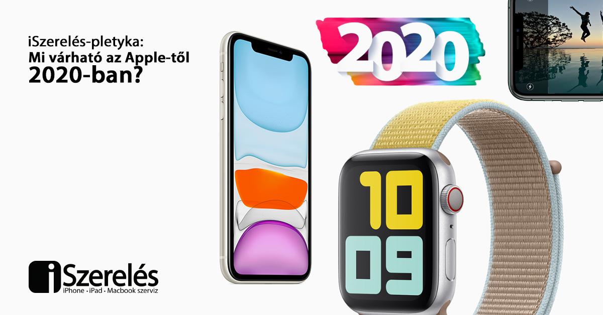 Apple-től 2020-ban