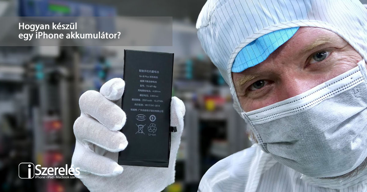 iPhone akkumulátor
