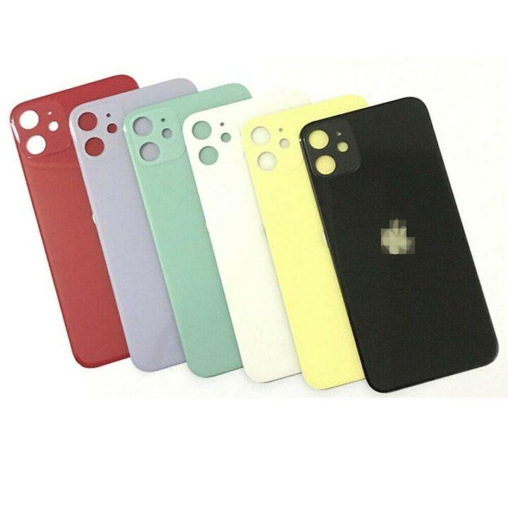 iPhone 11 hátlapi üveg csere
