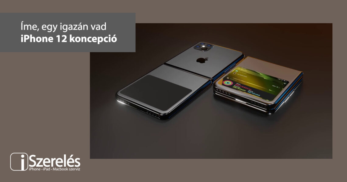 iPhone 12 koncepció