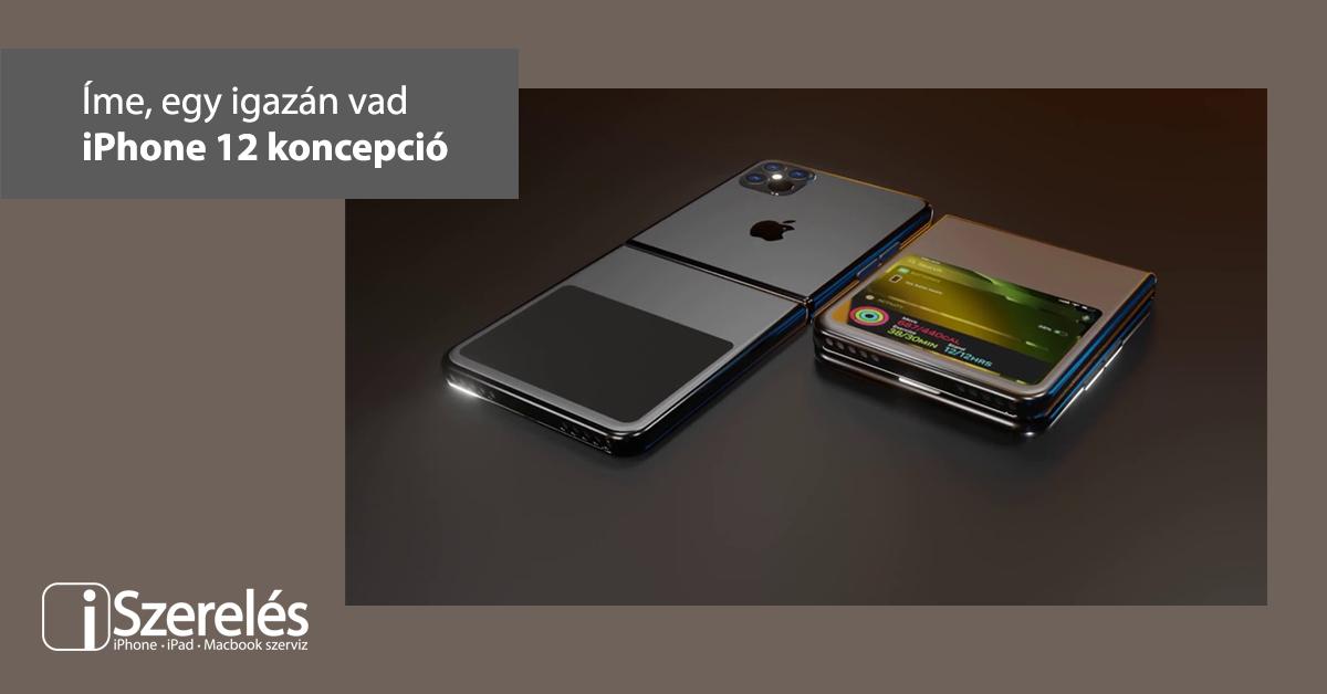 iPhone 12 koncepció