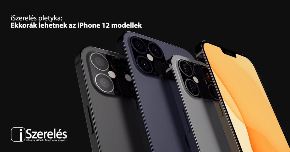 iPhone 12 modellek