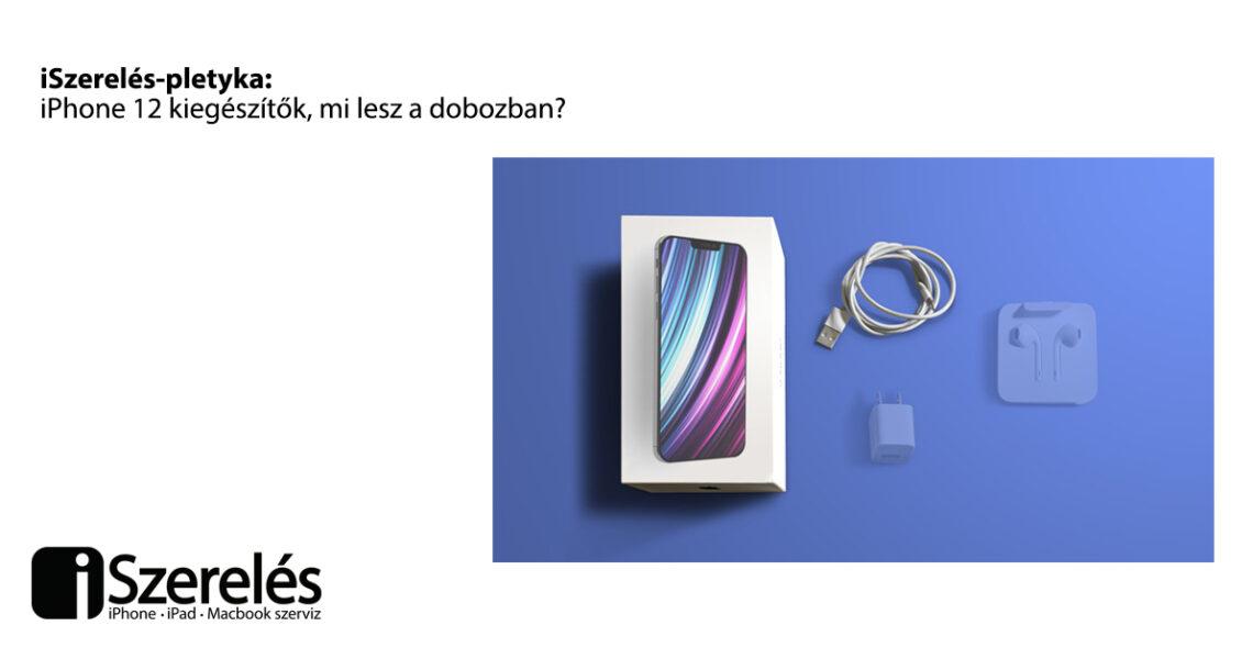 iPhone 12 kiegészítők
