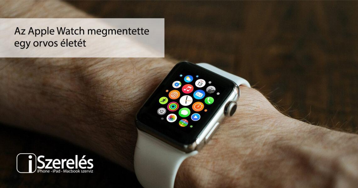 Apple Watch megmentette