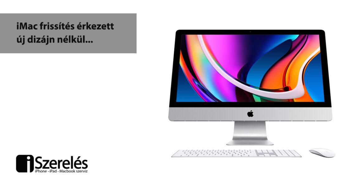 iMac frissítés