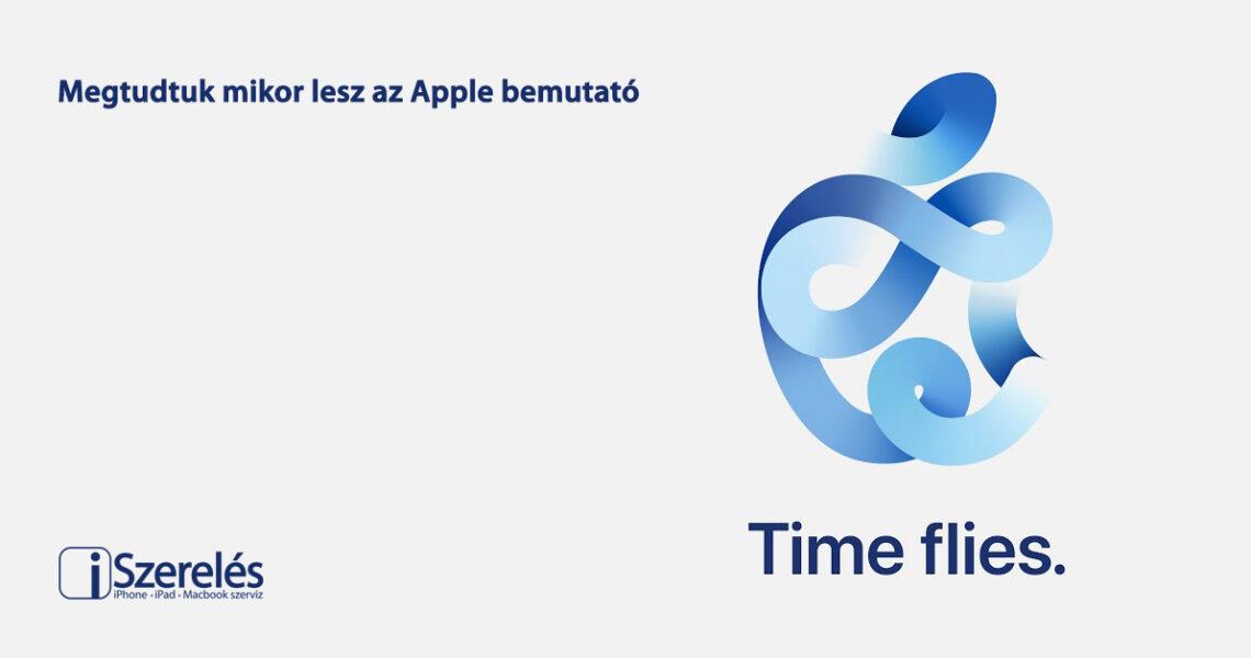 Apple bemutató