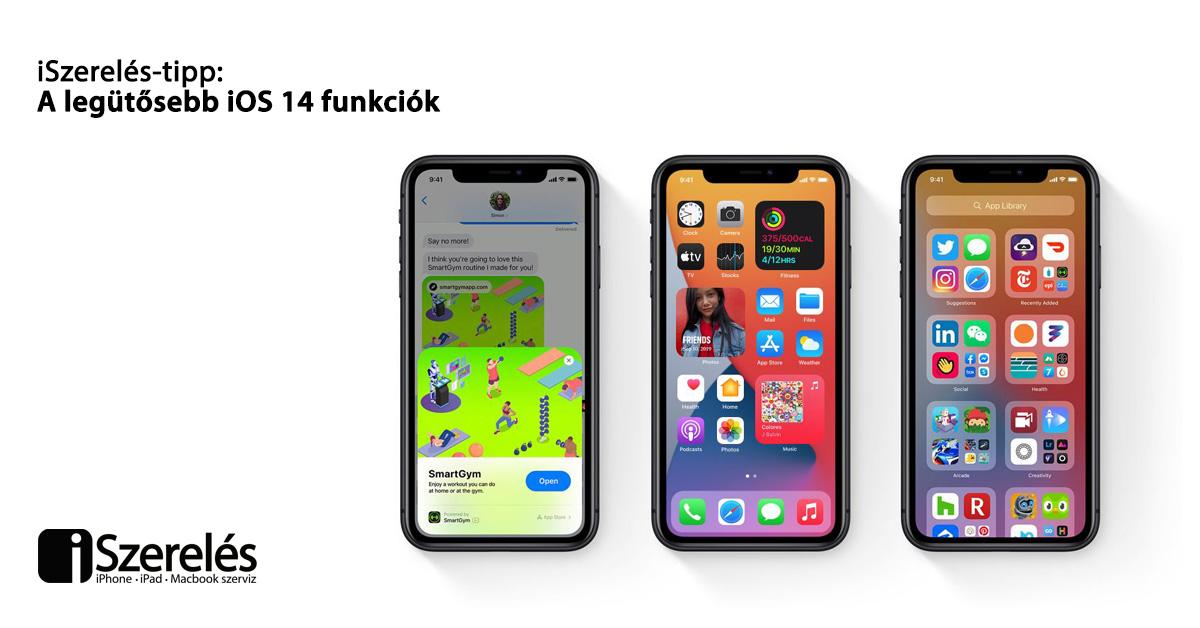 iOS 14 funkciók