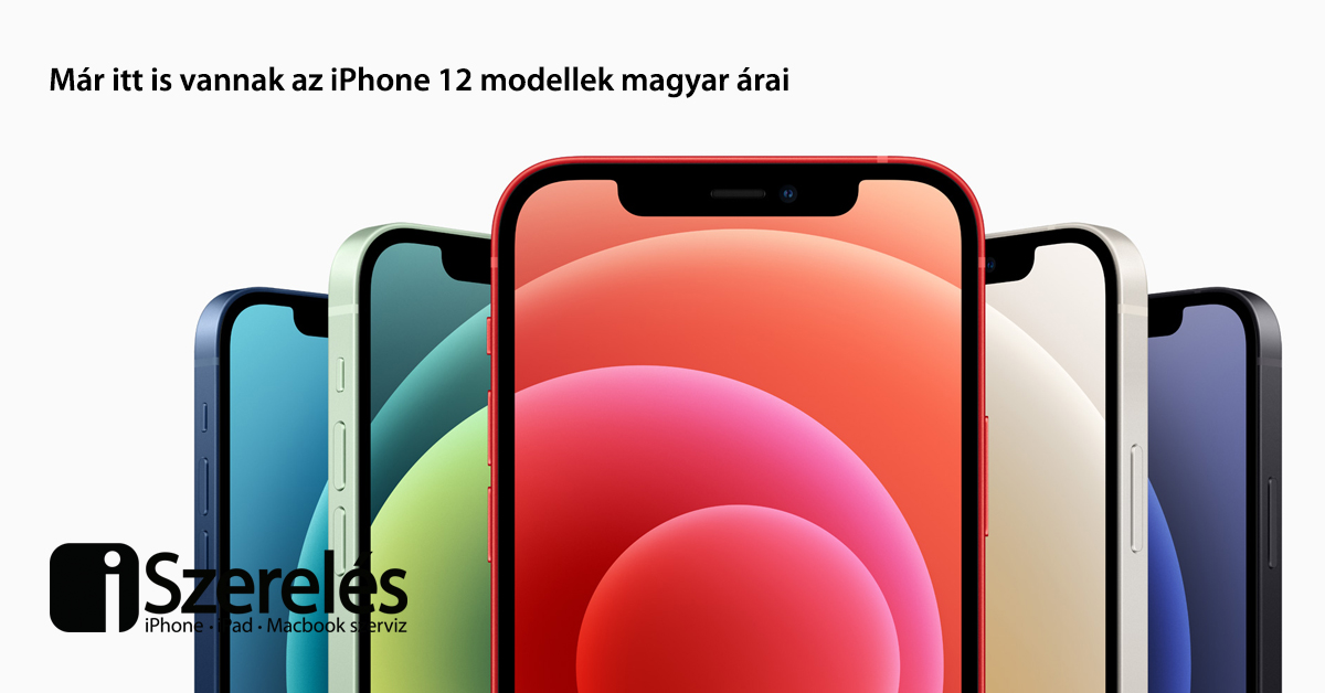 iPhone 12 árak forintban