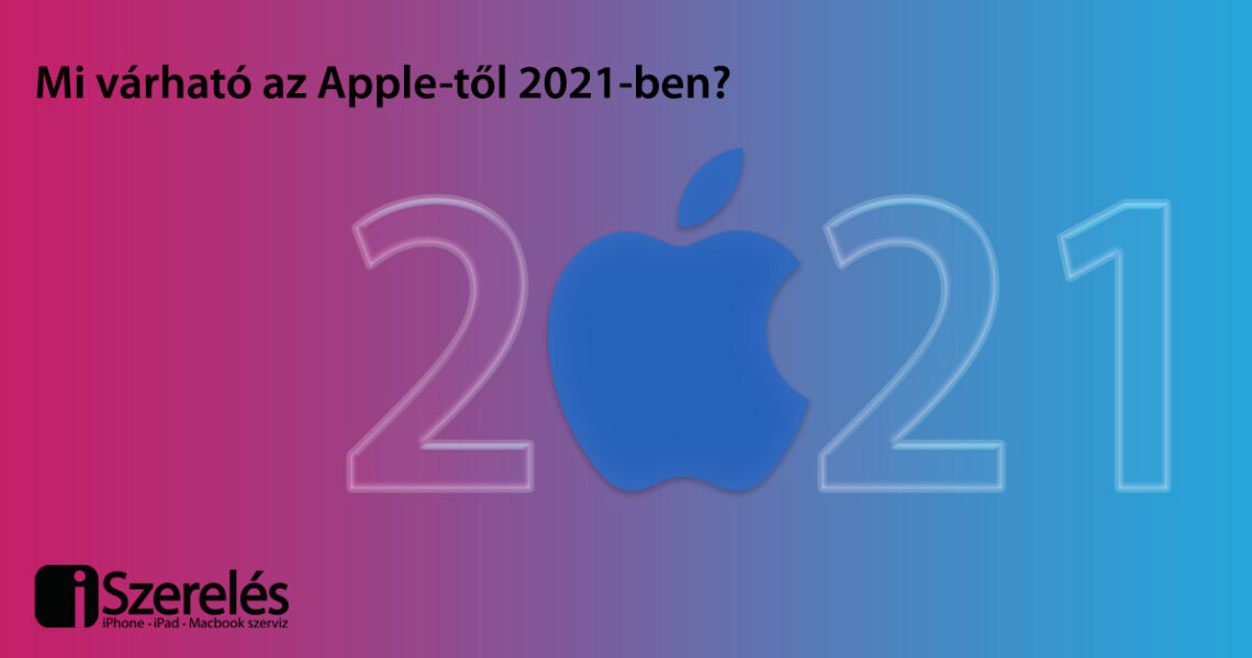 Apple-től 2021-ben