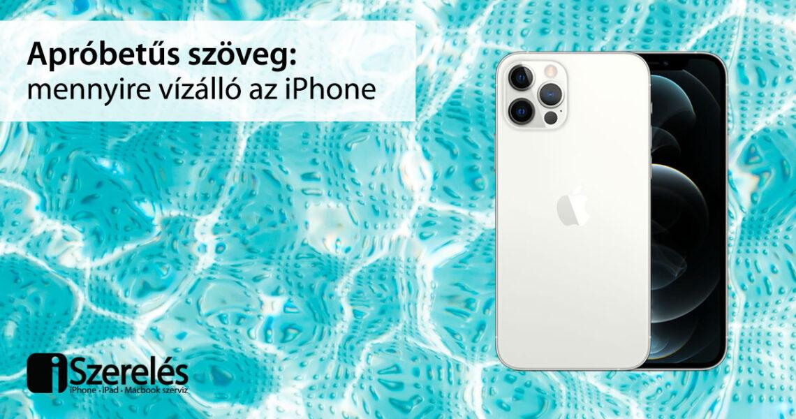 vízálló iPhone